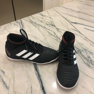 Boys Adidas Indoor Soccer Sneakers